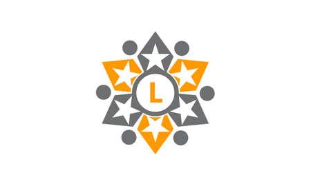 Success Life Coaching Letter L logo