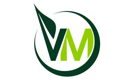 Green Project Solution Lettre VM Banque d'images - 89408348