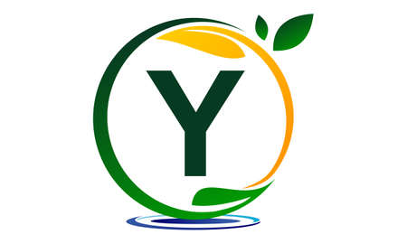 paysagiste: Green Project Solution Letter Y