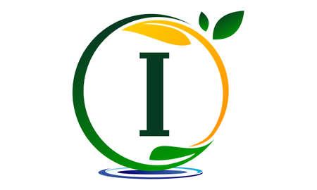 Lettre de solution de projet vert I. Banque d'images - 89587417