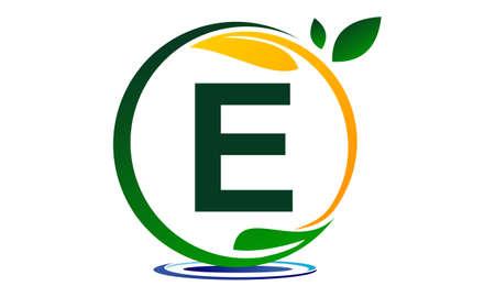 paysagiste: Green Project Solution Letter E.