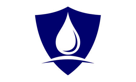 Water proofing solutions logo design