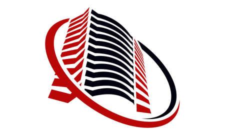Real estate center solutions logo design