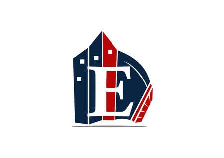 Modern symbol Letter E