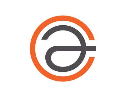 Modern solutions letter C A logo flat design for branding Stock Vector - 89814477