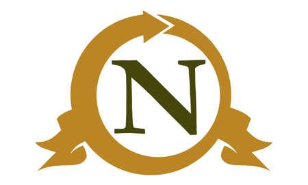 Modern Logo Solution Letter N