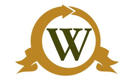 modern business: Modern Logo Solution Letter W