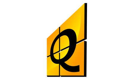 Modern Logo Solution Letter Q Illustration