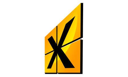 Modern Logo Solution Letter X