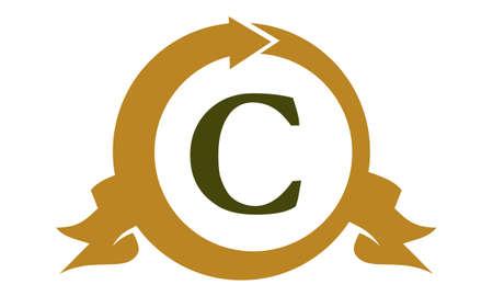 Modern Logo Solution Letter C Illustration