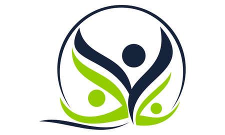 Health Life Spa and yoga logo