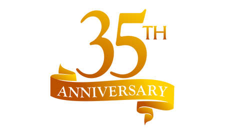35 Year Ribbon Anniversary