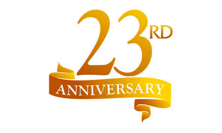 23 Year Ribbon Anniversary