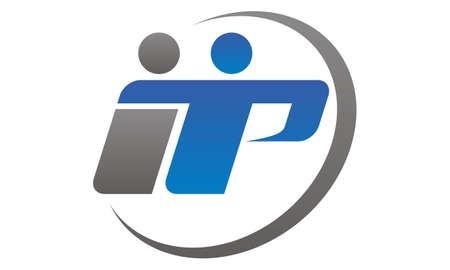 Synergy Letter I T P logo