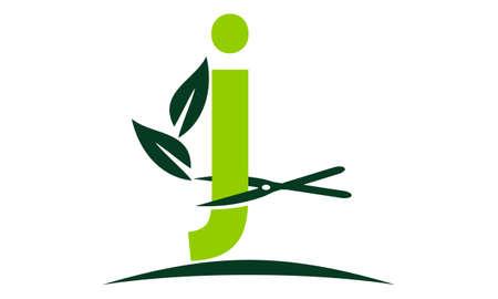 Letter J Lawn