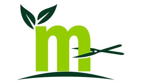 Letter M Lawn