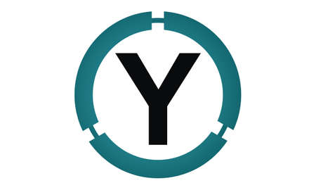 Modern icon Solution Letter Y