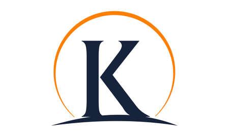 Modern Solution Letter K