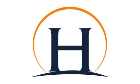 Modern Solution Letter H