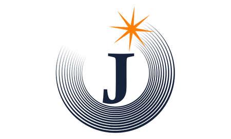 Modern Solution Letter J