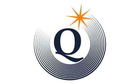 Modern Solution Letter Q