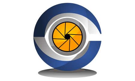 Surveillance Logo Design Template Vector