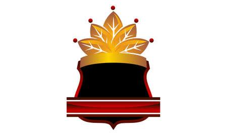 Shield Crown Leaf