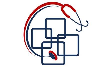 Medical App Billing Ilustração Vetorial