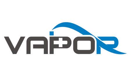 Vapor Logo Design Template Vector