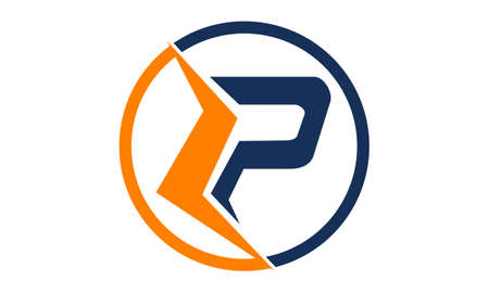 Letter LP Modern logo concept design.