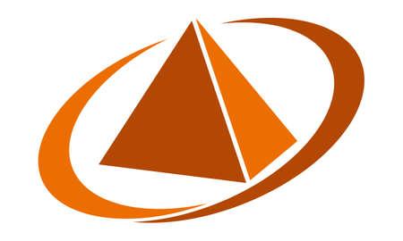 Pyramid Service logo design concept.