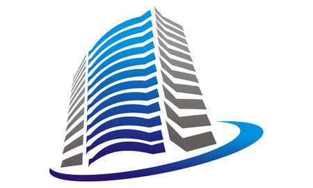 Real Estate logo design concept.