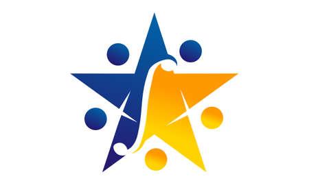 Expertise Solutions Center  logo design concept.