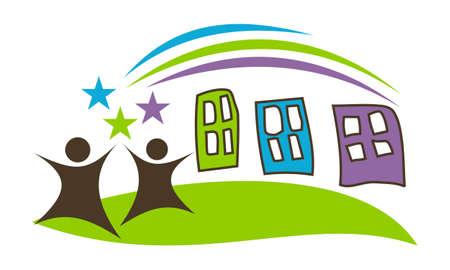 Preschool Logo design template