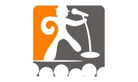 Success Public Speaking logo concept design.