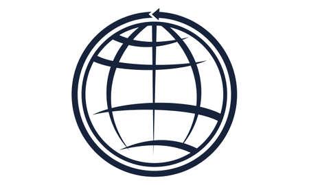 World Template logo concept design.