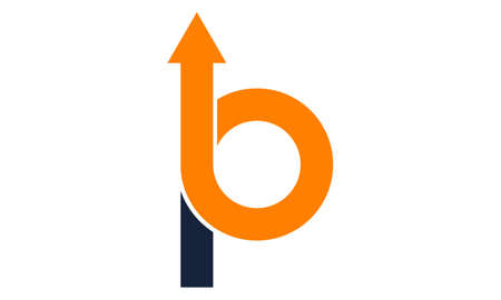 Letter B and P logo concept design.  イラスト・ベクター素材