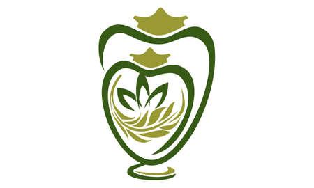 Urn Store emblem vector