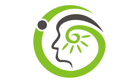 Hearing aid center audiology  イラスト・ベクター素材