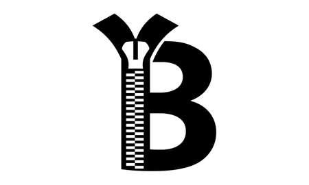 Letter B Modern