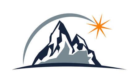 Mountain Solution Illustration
