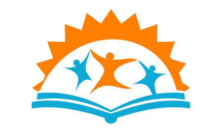 Education Consulting Center logo Vector illustration.