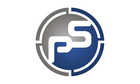 Letter PS Logo Design Template Vector illustration.