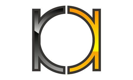 Letter BA Modern Logo Vector illustration.