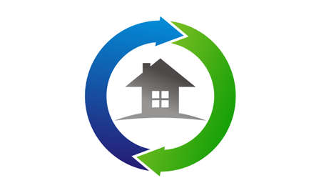 Home Buy Sell Solutions Logo Vector illustration.