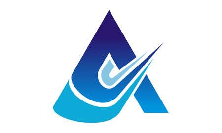 Letter A Logo Design Template Vector illustration.