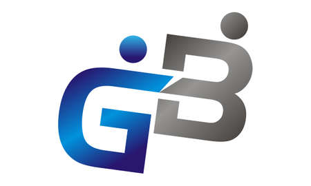 Letter GB Logo Design Template Vector