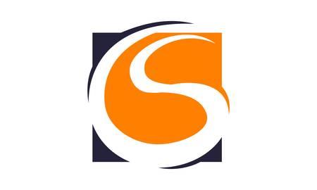 Letter CS Logo Vector illustratie.
