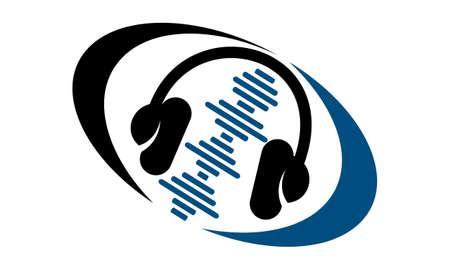 Sound Service Production Logo Vector illustration. Illustration