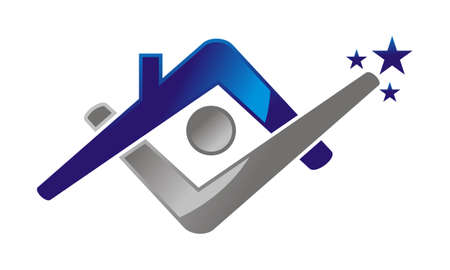 Home Success Life Logo Vector illustration.
